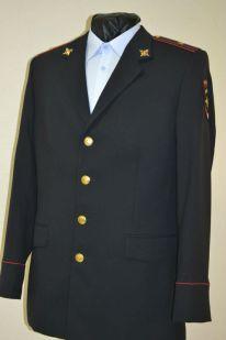 спецодежда полиции мужской китель брюки ткань пш