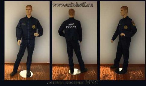 летняя костюм МЧС-1