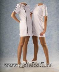 Медицинские халаты-1