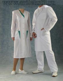 Медицинские халаты-11