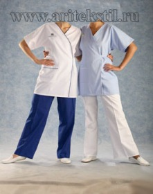 Медицинские халаты-8