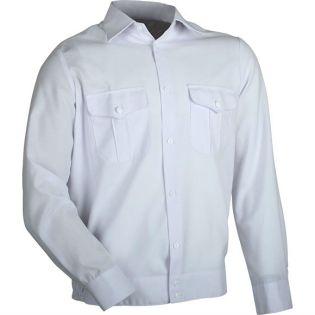 Рубашка форменная длинный рукав МЧС-belaya