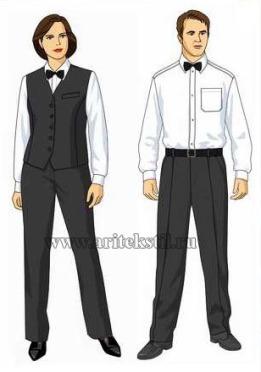униформа для официантов-26