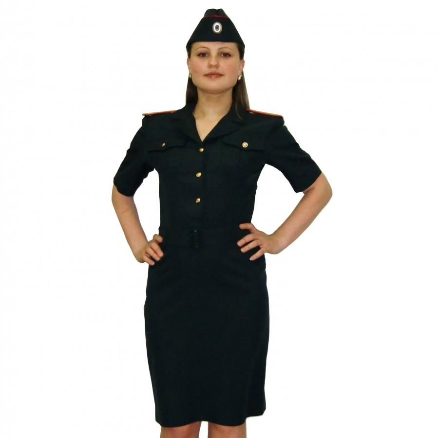 Платье форменное полиция фото
