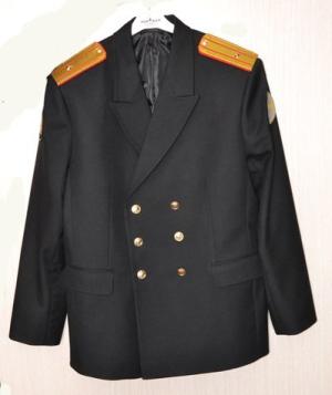 Парадный китель ВМФ России тк п/ш или габардин цвет черный