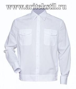 рубашка форменная c длинным рукавом-7