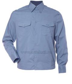 рубашка форменная c длинным рукавом-9