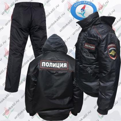 Костюм Ветровка для МВД Полиции России мужские-2