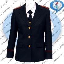 костюм китель полиции женский-1