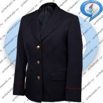 костюм китель полиции женский-3