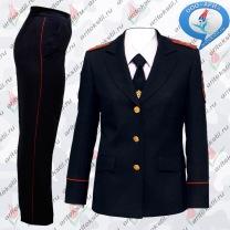Костюм китель+брюк парадный для для МВД Полиции России женские