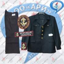 костюм парадный китель морская пехота-2