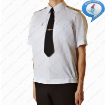 Рубашка ВМФ России с короткими рукавами