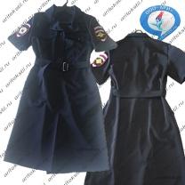 форменное полицейское платье с коротким рукавом-2